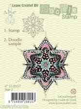 Leane Creatief-Doodle chiaro TIMBRO-STAR 2 - 0157-NATALE-NUOVO FUORI
