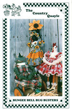 """Bungee Bell Bug Busters Uncut The Country Quayle Pattern Tcq134 18"""" Hanging Doll"""