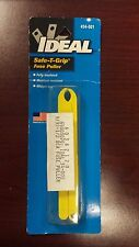 Ideal Safe-T-Grip Fuse Puller #34-001, high-dielectric plastic, NEW