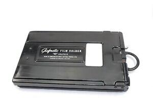 Graflex Grafmatic 4x5 5x4 6 sheet cut film holder for Large Format Cameras MPP