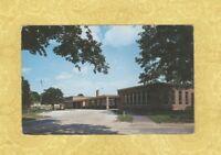 CT Centerbrook 1950-60s vintage postcard ESSEX ELEMENTARY SCHOOL CONN Education