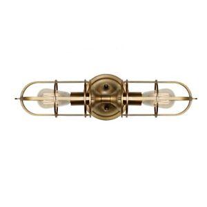 Feiss 2-Light Wall Bracket, Dark Antique Brass - WB1704DAB