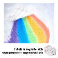110g Rainbow Cloud Bath Bomb Salt Exfoliating Bubble Bath Ball Moisturizing Hot