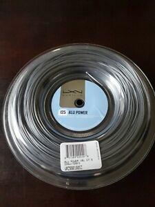 Luxilon ALU Power 125 16L Tennis String reel, 220m / 726ft