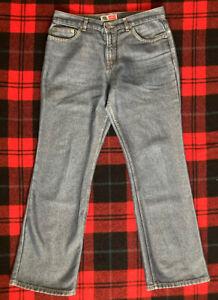 "Men's Vintage ARIZONA JEAN CO. ""Flare Leg"" Jeans! Size (W34""xL31"") Flare: 10"""