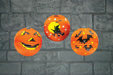 Halloween Papier Potiron Lanterne pendant Décoration de Fête 25cm