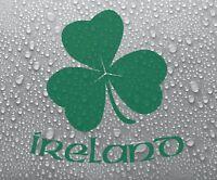Irish Shamrock #1 (small) - Ireland, Eire vinyl decal sticker graphic - DEC1037