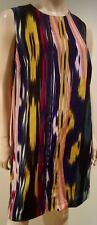 M MISSONI Multicolour Striped Round Neck Sleeveless Tunic Dress IT46 UK14 BNWT