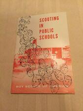 1957 Boy Scout Scouting In Public School Booklet