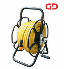 HRM250-T12 - Rugged freestanding metal hose reel with 50-metres of 12mm Hose