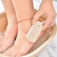 1*Foot Skin File Scruber Pumice Hard Stone Pedicure Care Foot Remover H8A5