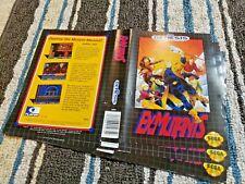 BOX ART ONLY Ex-Mutants Ex Mutants Original Sega Genesis Case Sleeve