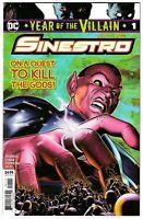 Sinestro #1 YOTV On a Quest to Kill the Gods DC Comic 1st Print 2019 unread NM