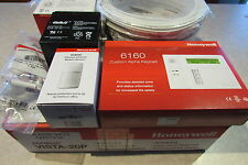 Honeywell Vista-20P Alarm Kit 2 (two) 6160 IS3035 PIR Battery Wire 944 Siren NIB