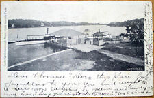 1905 Postcard: Lake Quinsigamond, Lincoln Park - Dartmouth, Massachusetts MA