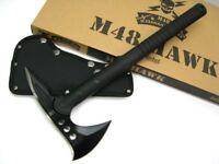 United Cutlery Tactical Black M48 Hawk Tomahawk Axe + Nylon Sheath UC2765