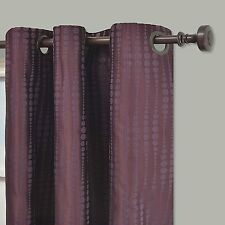 Eclipse Captree Blackout Grommet Window Panel Plum Purple 42 X 84