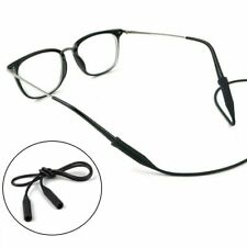 1/2 Glasses Silicone Strap Neck Cord Sunglasses Eyeglasses String Lanyard Holder