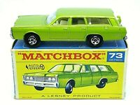 Matchbox Lesney No.73c Mercury Commuter In Type 'F1' With 'New' Box (FILLER CAP)