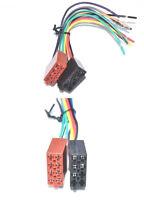 Autoradio ISO Kabel Stecker Strom Lautsprecher Radioadapter DIN ISO Kabelbaum