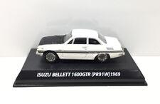 KONAMI 1/64 ISUZU BELLETT 1600GTR (PR91W) 1969 Diecast Car Model White