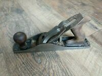 Vintage Stanley Bailey Smooth Bottom Wood Plane No. 5 1/4 US Pat Apr-19-10