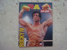 SYLVESTER STALLONE rare MINIATURE vintage 80s ROCKY IV cover SPECIAL magazine