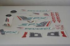 kit autocollant peugeot 103 SPX couleur gris REF:MOB068