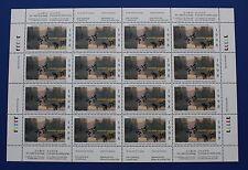 Canada (CN14) 1998 Wildlife Habitat Conservation Stamp Sheet (MNH)