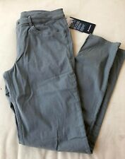"NWT Men's Lululemon Size 32 ABC Pant Slim 34"" Length *Dye WHGS Green"