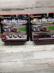Winners Circle Micro Machines Dale Earnhardt Race Hauler & Checkered flag Series