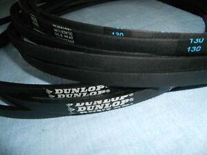"""Dunlop belt Honda IZY 16"""" 18"""" HRG465/6 415/6 eqv 22431-VE0-LO2 & 22431-VK7-750"""