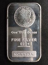 Highland Mint Morgan Dollar Silver Art Bar A1737