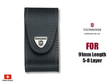 Victorinox Leather Belt Pouch For 91mm 5-8 Layers Swiss Army Knife 4.0521.3