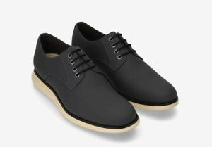 Cole Haan Mens Original Grand Plain Toe Lace Up Casual Dress Shoes Oxfords