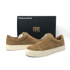 Frye Lena Zip Low Suede Leather Sneaker Style Shoes - Women's Size 6 NWB