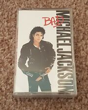 MICHAEL JACKSON ALBUM - BAD - 1987 ON CASSETTE