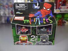 Marvel Minimates Toys R Us Series 04 Ultimate Iron Man / Ultimate Hulk