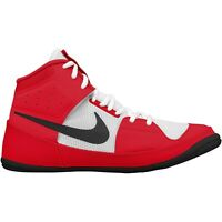 Nike Fury Wrestling Shoes (boots) Boxing Boots Adult Kids Ringerschuhe Red