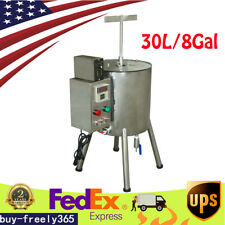 8 Gal Heating Mix Stirred Tank Candle Chocolate Filler Lipstick Filling Machine
