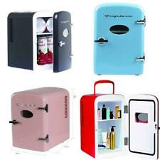 Portable Retro Cool Personal Mini Fridge Refrigerator Compact Cooler Home Office