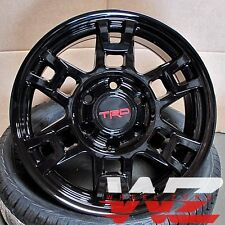 17x8 Toyota TRD Style Platinum Gloss Black  Wheels Fits Tundra Sequoia 6x139