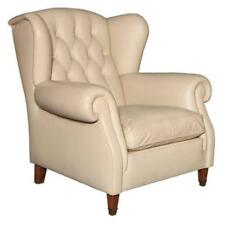 Poltrona Frau Leather Arm Chair made in 1970's
