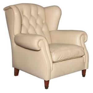 Poltrona Frau Leather Arm Chair, 1970's, Italy
