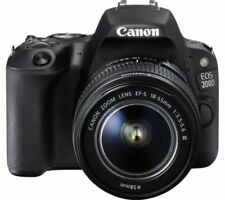 Canon Eos 200D / Sl2 Dslr Camera w/ Ef-S 18-55mm f/3.5-5.6 Iii Lens