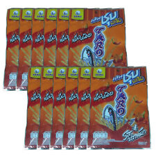 Taro Sauce Coated Fish Snack Spicy Cuttlefish Flavored Low Fat Halal Food 22gx12
