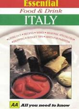 Essential Food and Drink: Italy (AA Essential Food & Drink Guides),Susan Conte