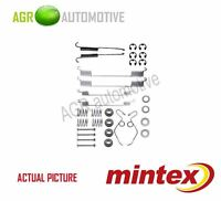 MINTEX REAR BRAKE SHOES SET FITTING KIT PIN SPRINGS GENUINE QUALITY - MBA642
