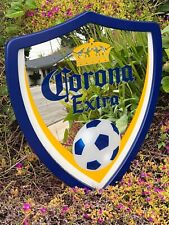 Corona Extra Soccer Beer Bar Mirror Man Cave Pub