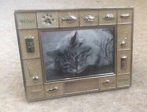 Novelty Cat Lovers Themed Lovely Photo Picture Frame Freestanding